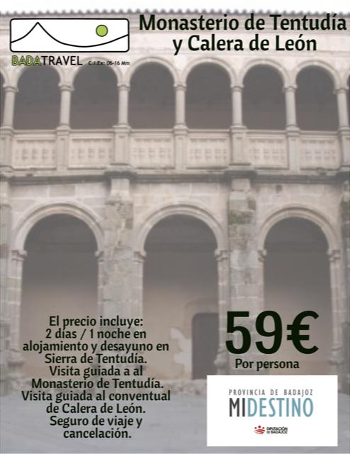 Monasterio de Tentudía y Calera de León